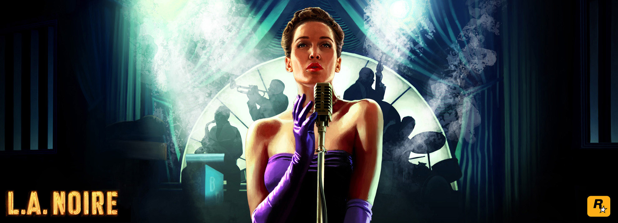 L.A. Noire Official Cover Art Image